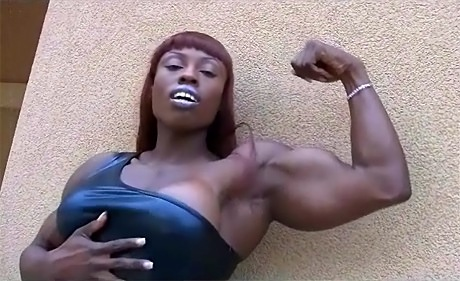 Treasure massive black ripped female bodybuilder from wonderful katie morgan