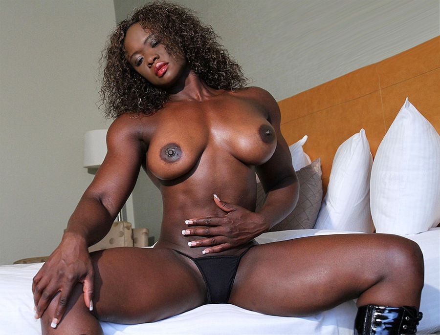Consider, that charmaine patterson muscle black women porn