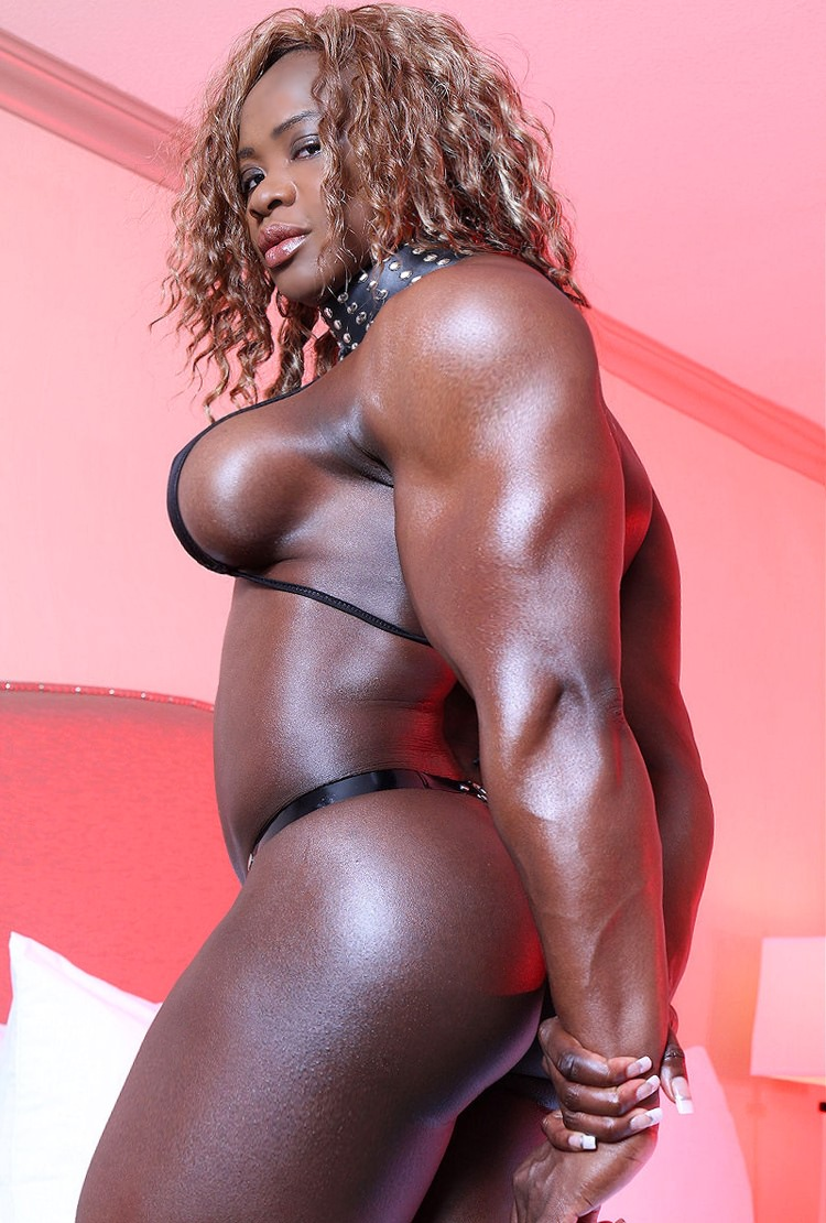 black muscle girl sex video