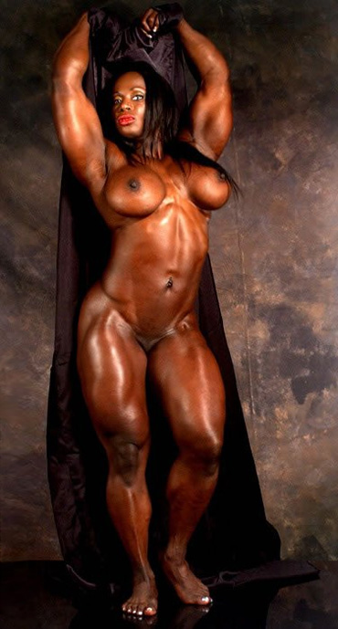 Black female fitness body women are certainly