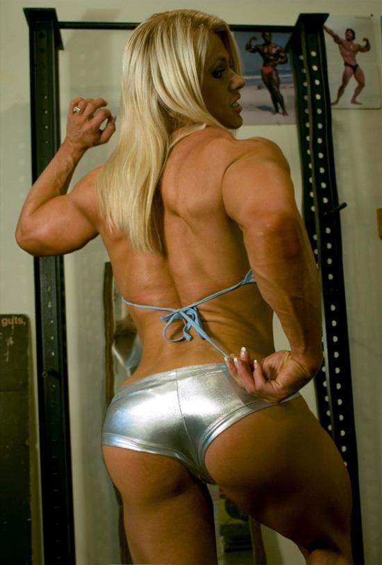Melissa bodybuilder blonde female