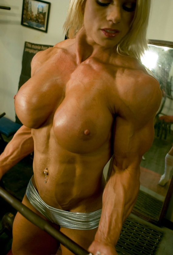 big boobed women bodybuilders