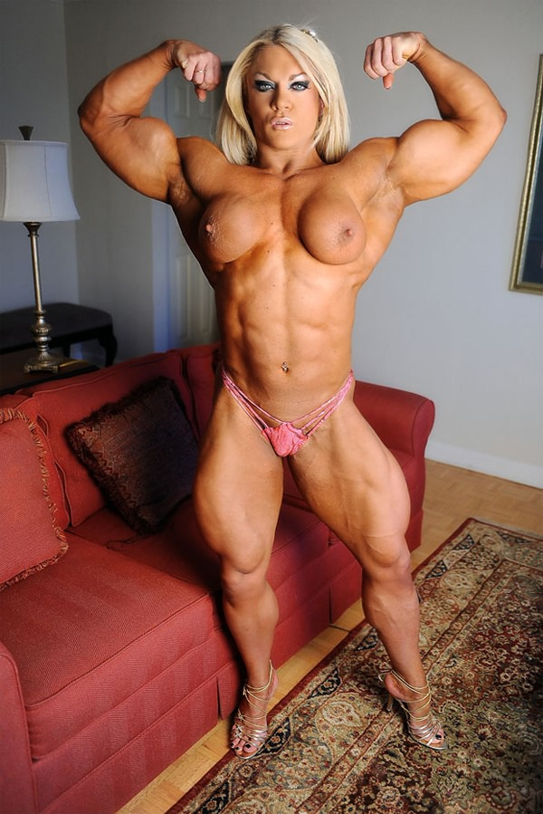 Katie Morgan Bodybuilder Pics