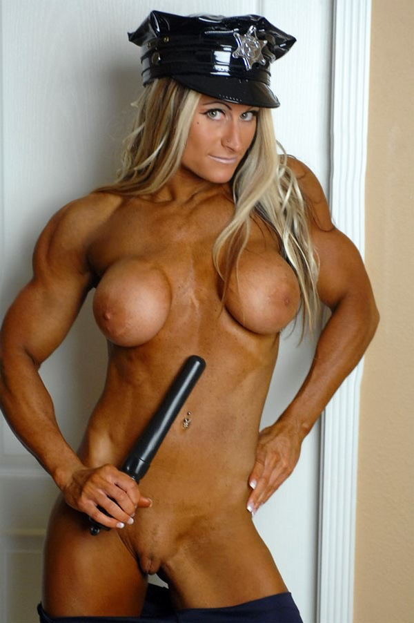 Hot muscular female domination apologise, but