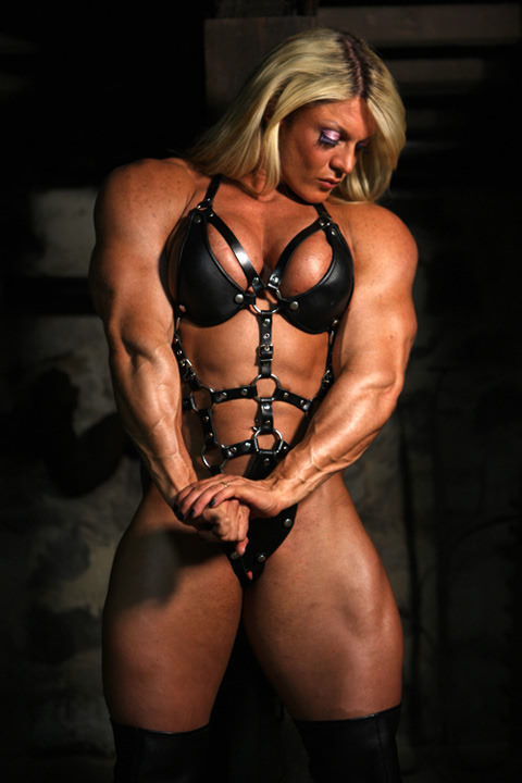 Hot muscular female domination what that