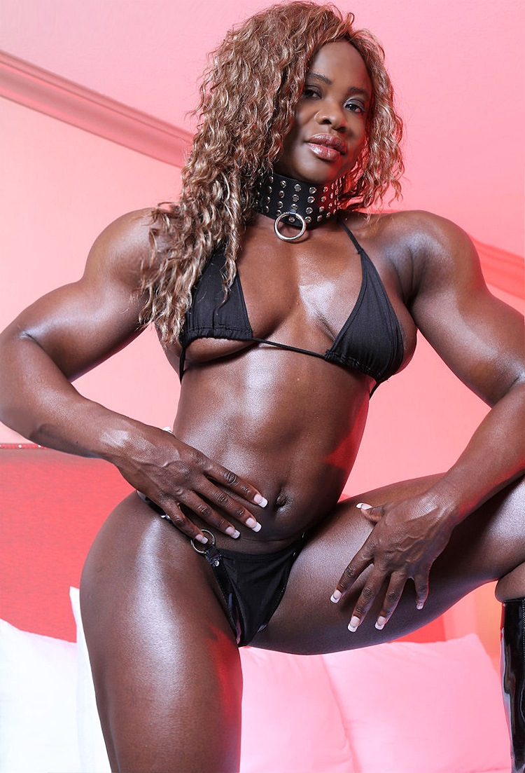 Black female bodybuilder porn